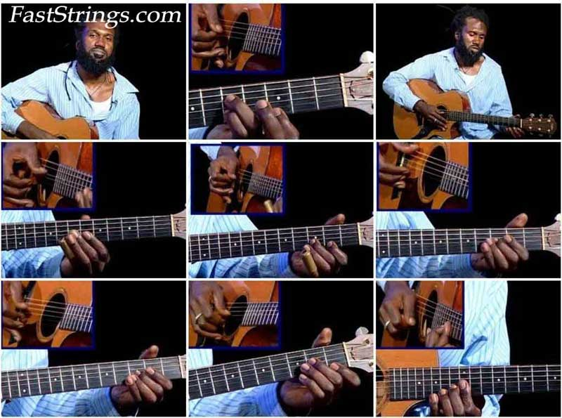 Corey Harris - Teaches Blues Guitar from Mississippi to Mali