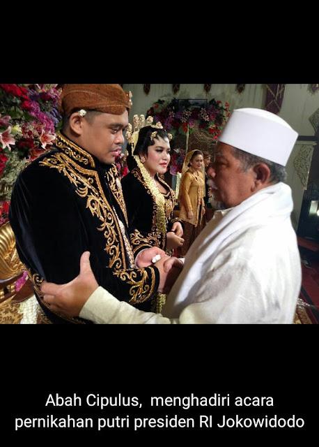 Abah Cipulus diundang Jokowi. Ulama asal Purwakarta ini, hadiri pernikahan Kahiyang Ayu