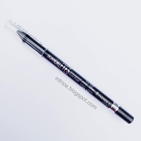 Rimmel Scandaleyes Waterproof Kajal Eyeliner in Black - photo credit: intrice.blogspot.com