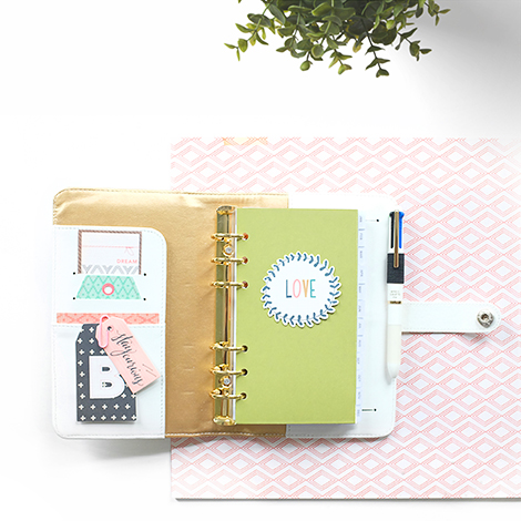 Maria Lacuesta - Crate Paper Design Team - DIY Planner Accessories