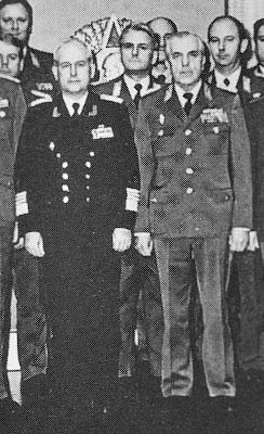 Admiral Theodor Hoffmann Generaloberst Horst Stechbarth www.ddrmedailles.nl