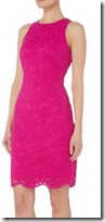 Lauren Ralph Lauren Pink Lace Dress