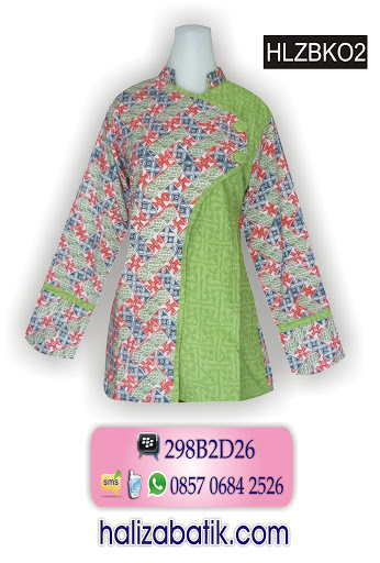 model baju batik wanita, baju batik pekalongan, desain baju batik