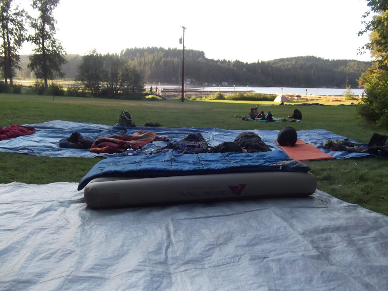 Our beds for the night