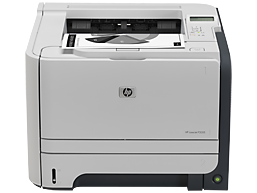 Instructions on down HP LaserJet P2055 lazer printer driver