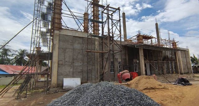 Sumbang Pembangunan Masjid Al-Muhajirin Sungai Cuka, Camat Kintap Apresiasi Arutmin