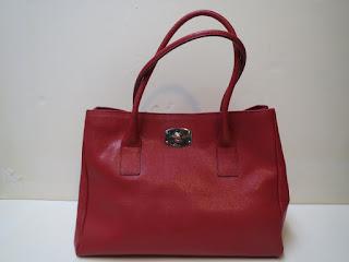 Furla Textured Leather Shoulder Bag