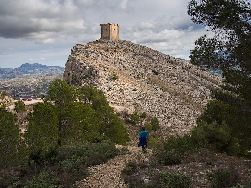 Castell de Cocentaina, gairebé al final de la ruta
