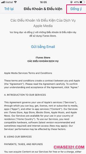 chuyển vùng quốc gia App Store từ Việt Nam sang nước khác mới nhất
