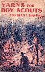 Escultismo Para Muchachos - Portada de una edición de USA