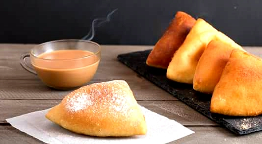 Image result for chai and mandazi recipe