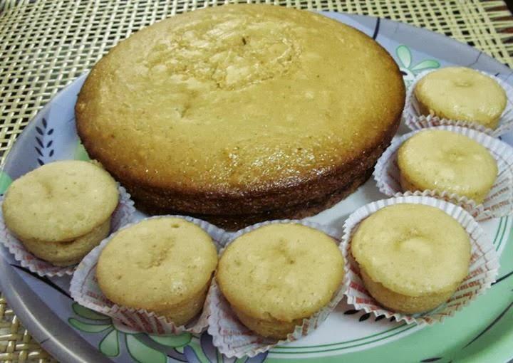 Pintu's Vegan Very Vanilla Cake