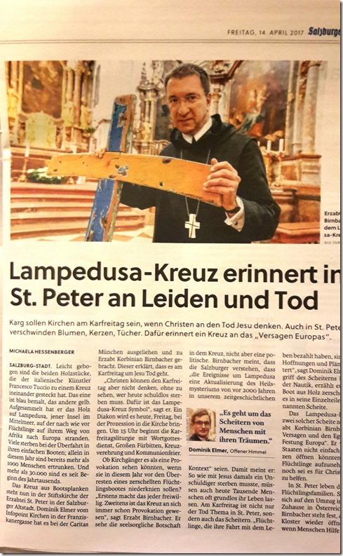 St. Peter Flüchtlingskreuz