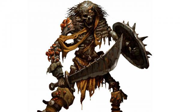 Fungus Skeleton 01, Magick Warriors 1