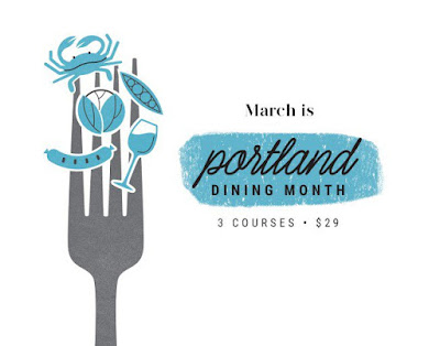 My picks for Portland Dining Month 2016