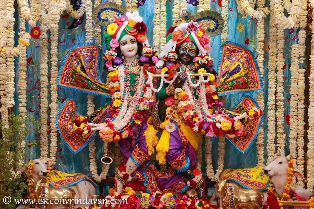 ISKCON Vrindavan Sringar Deity Darshan 28 Feb 2016 (7)