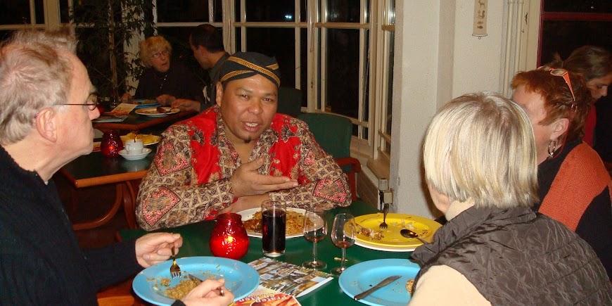 Praten met Surinamers