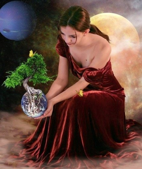 Wiccan Planets, Goddesses