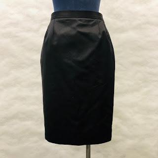 Yves Saint Laurent Silk/Cotton Skirt