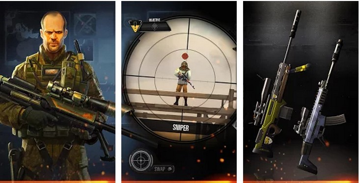 Sniper X feat. Jason Statham Apk v0.8.2 Money Mod