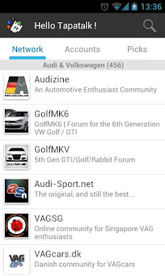 Tapatalk Forum App v2.4.2 for Android Apps