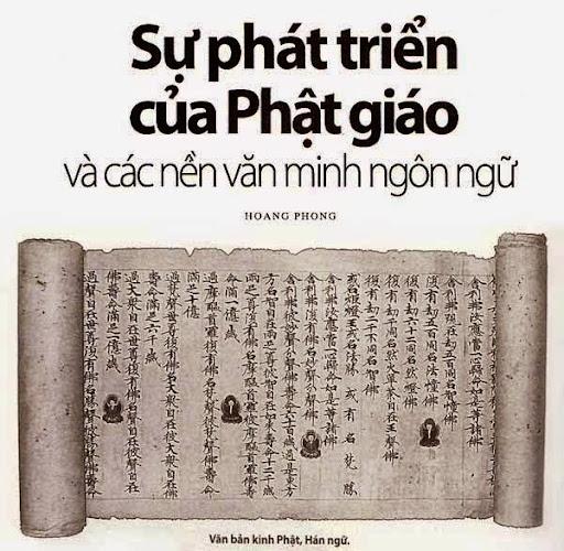 Sự phát triển của Phật Giáo và các nền văn minh ngôn ngữ