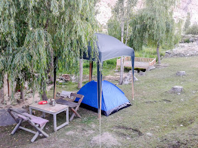 Our camp at Duikher, Hunza