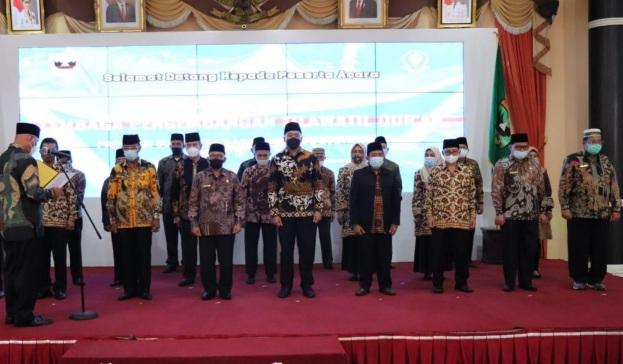 Wagub Audy Joinaldy Dilantik Jadi Ketua LPTQ 2021-2025