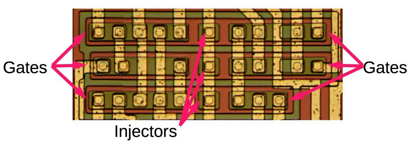 Inside the 76477 Space Invaders sound effect chip: digital