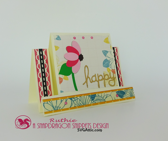 SnapDragon Snippets, Mothers Day Flower Step Card, Ruthie Lopez 2