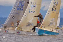 J/24s starting at Seattle NOOD Regatta