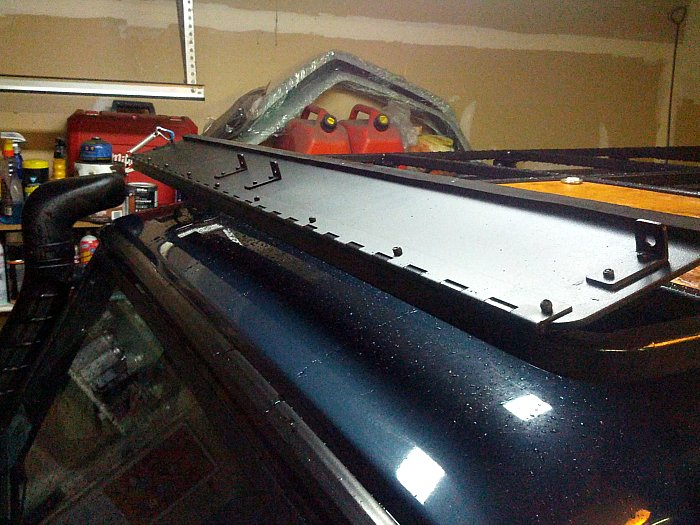New Front Runner Wind Deflector Club G Wagen Forum