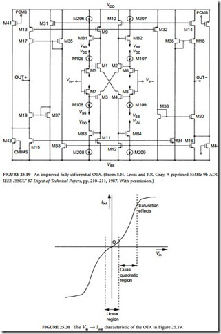 differential pair gain control in a relationship