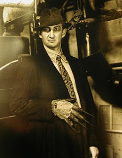 photo by Helmut Newton in the boiler room of the Chateau Marmont, West Hollywood, CA