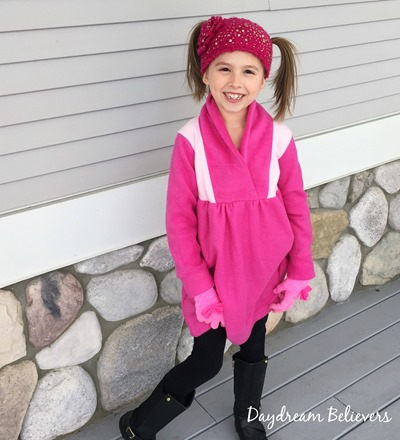 Fleece Dress for Girls by Daydream Believers Designs for CKC
