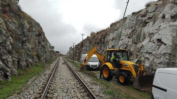 Estudios geotécnicos del proyecto para la ampliación de cercanías hasta Soto del Real