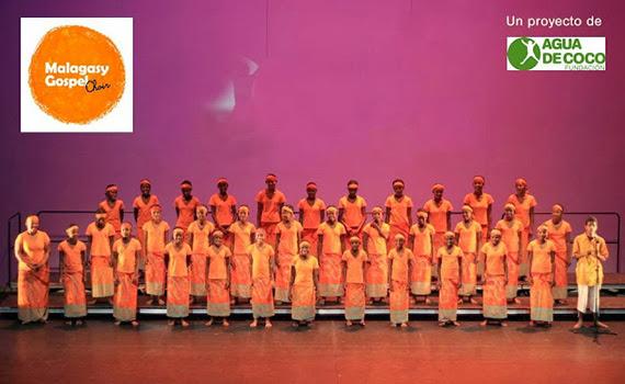 Concierto Malagasy Gospel Choir, 29 de diciembre 2013 en el Teatro Nuevo Apolo