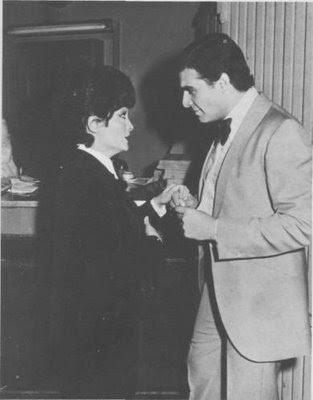 Virginia Luque y Ruben Juarez en 1976