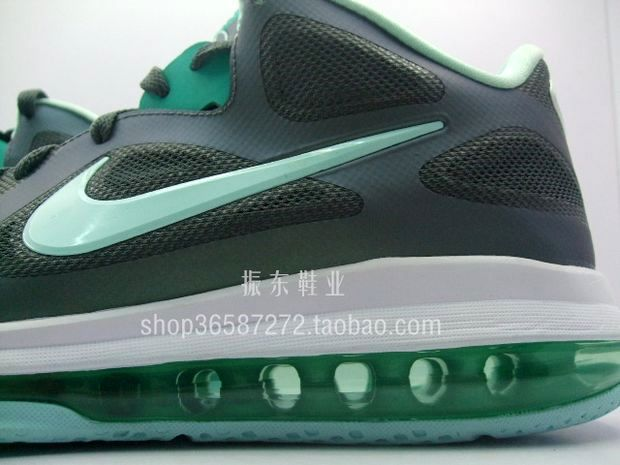 newest dfc3b 7747d Detailed Look at LEBRON 9 GreyMint CandyNew Green 8220Easter8221 ...