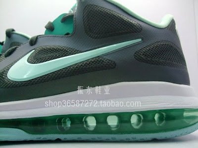 nike lebron 9 low gr easter 2 03 Detailed Look at LEBRON 9 Grey/Mint Candy/New Green Easter