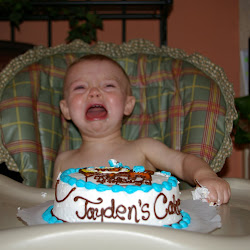 Jaydens First Birthday - May, 2008