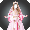 Little Princess costume montage photo frames icon