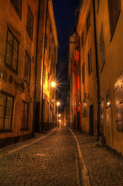 Photo: Old Town in Stockholm 9 exposure HDR  #PlusPhotoExtract