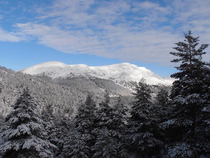 Peñalara 2428 m. Techo de la Sierra de Guadarrama, de Madrid y de Segovia.