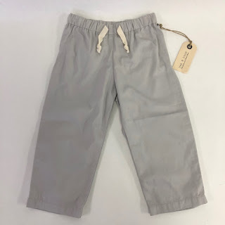 *SALE* Rag & Bone 2yr Boys Lt. Grey Trousers