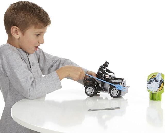 Đồ chơi mô hình Agent Venom với Siêu xe  ATV thật thú vị