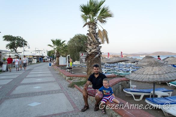 Bodrum, Petunya Beach Resort'un sahili