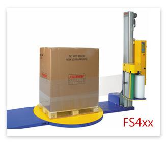 膠膜棧板裹膜機FS4xx