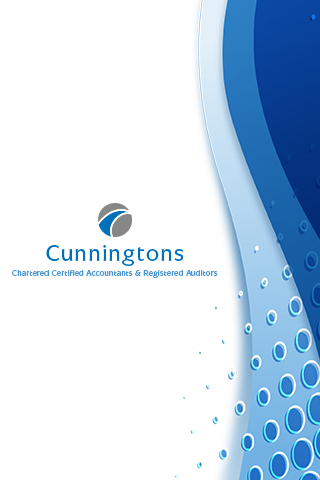 Cunningtons Accountants- screenshot