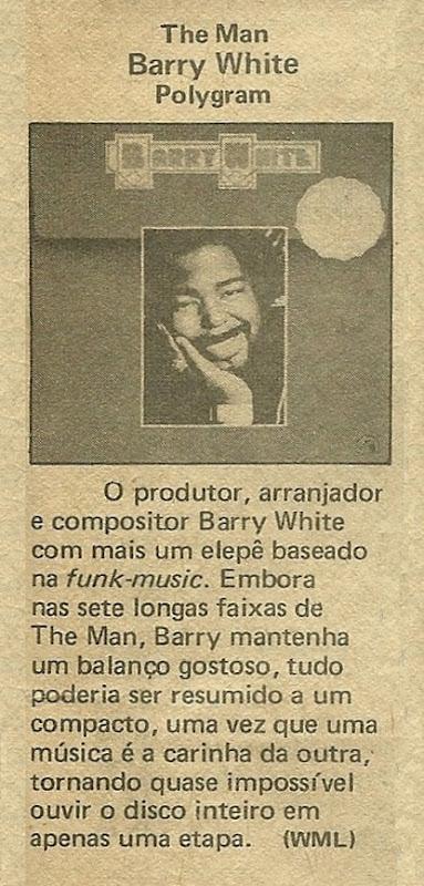 Barry White, The Man - Música1979-05 - WML